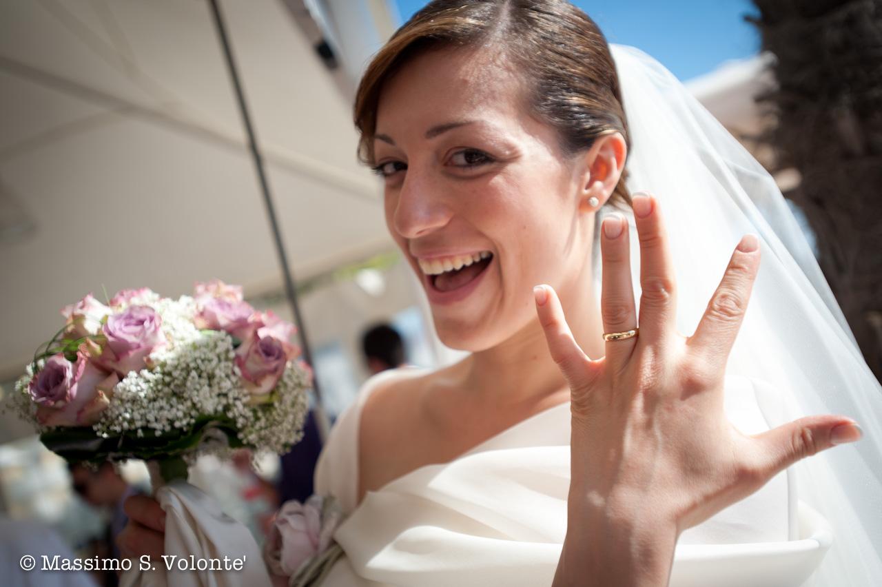 L'anello al dito della sposa, Fotografo matrimonio Milano