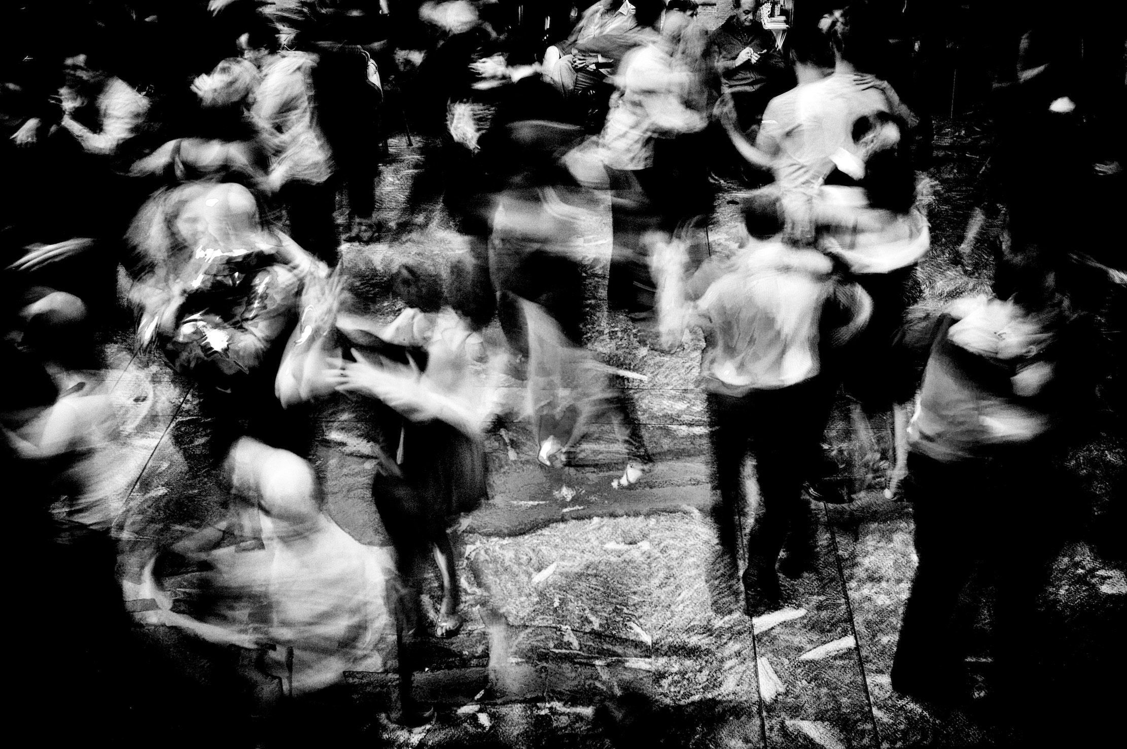 Dancing people, art, massimo volonte fotografo, black and white